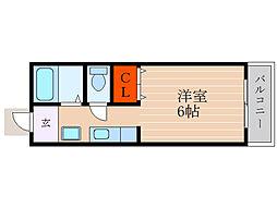 滋賀県彦根市正法寺町の賃貸アパートの間取り