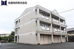 愛知県豊橋市石巻本町字市場の賃貸マンションの外観