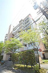 大阪府箕面市粟生間谷西2丁目の賃貸マンションの外観