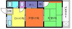 立花マンション[2階]の間取り