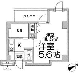 コパーズアプト鶴ヶ峰[5階]の間取り