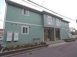 千葉県柏市増尾4丁目の賃貸アパートの外観