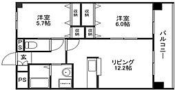 N2002[3階]の間取り