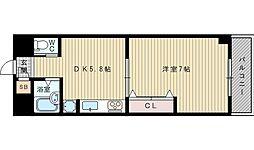 第12関根マンション[5階]の間取り