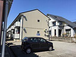 ウエストヒルズA棟B棟[2階]の外観