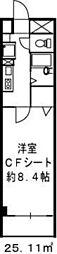 ドミール江戸堀[8階]の間取り