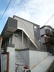 神奈川県横浜市神奈川区白幡上町の賃貸アパートの外観