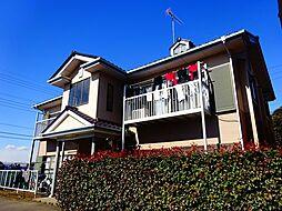 茨城県筑西市藤ケ谷の賃貸アパートの外観