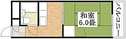 シード平野[2階]の間取り