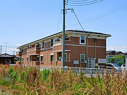 栃木県下都賀郡壬生町本丸1丁目の賃貸アパートの外観