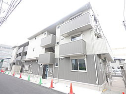 神奈川県厚木市岡田1丁目の賃貸アパートの外観