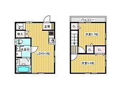 [一戸建] 東京都北区西ケ原3丁目 の賃貸【東京都 / 北区】の間取り