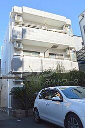 大阪府箕面市百楽荘1丁目の賃貸マンションの外観
