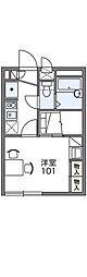 HIRATO[1階]の間取り