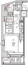 アルテシモ テーレ 4階1Kの間取り