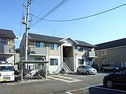 新潟県三条市石上3丁目の賃貸アパートの外観