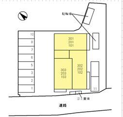 仮称)D-Room群津[1階]の外観