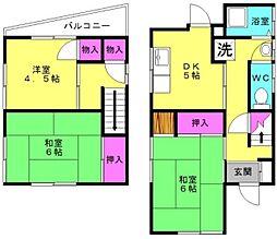 [一戸建] 兵庫県明石市魚住町清水 の賃貸【/】の間取り