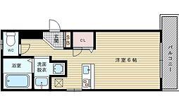 COM HOUSEII[1階]の間取り