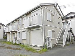 神奈川県大和市南林間5の賃貸アパートの外観