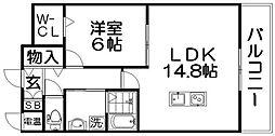 Casiopea〜カシオペア〜[2階]の間取り