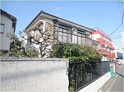 東京都世田谷区給田2丁目の賃貸アパートの外観