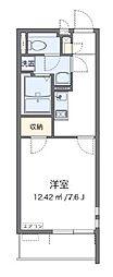 東武野田線 大宮公園駅 徒歩7分の賃貸アパート 3階1Kの間取り
