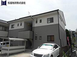 愛知県豊川市一宮町社の賃貸アパートの外観