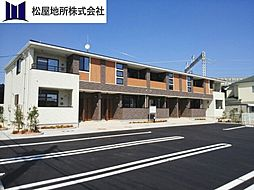 愛知県豊橋市野田町字野田の賃貸アパートの外観