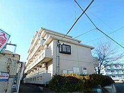 東京都八王子市堀之内2丁目の賃貸マンションの外観