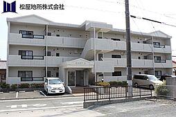 愛知県豊橋市中岩田3丁目の賃貸マンションの外観