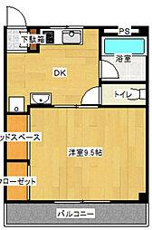 スリーフラット228[3階]の間取り