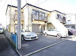 神奈川県海老名市国分北2の賃貸アパートの外観