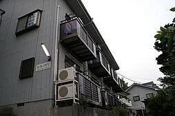 神奈川県横浜市青葉区恩田町の賃貸アパートの外観
