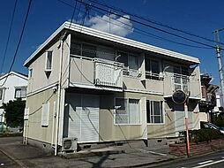 栃木県宇都宮市陽南1丁目の賃貸アパートの外観