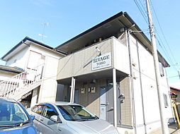 神奈川県厚木市鳶尾2丁目の賃貸アパートの外観