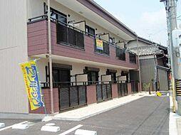 愛知県蒲郡市三谷町の賃貸アパートの外観