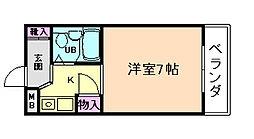 大八ビル[3階]の間取り