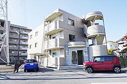栃木県小山市三峯2丁目の賃貸マンションの外観