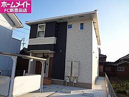 愛知県豊田市上郷町5丁目の賃貸アパートの外観