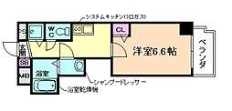 ALZA松ヶ枝[6階]の間取り