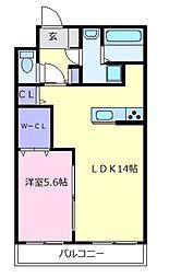 セイワコートプレミアム[1階]の間取り