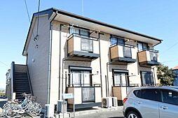 静岡県菊川市沢水加の賃貸アパートの外観