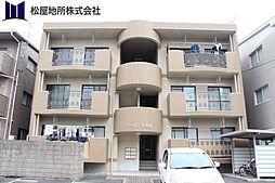 愛知県豊橋市忠興2丁目の賃貸マンションの外観
