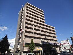 東京都北区志茂3丁目の賃貸マンションの外観
