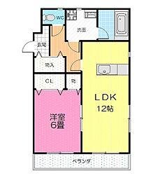 スタヂオ・ヌフ[1階]の間取り