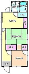 [一戸建] 大阪府枚方市牧野阪3丁目 の賃貸【/】の間取り