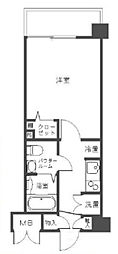 ステージグランデ三軒茶屋アジールコート[2階]の間取り