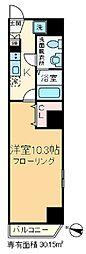 滝野川プレイス[4階]の間取り