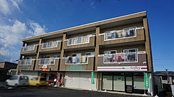 栃木県さくら市卯の里2丁目の賃貸マンションの外観